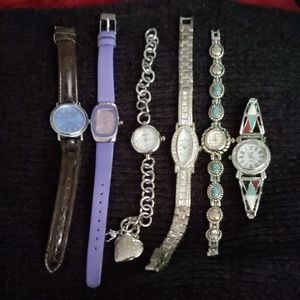 Lot of 6 fashion watches